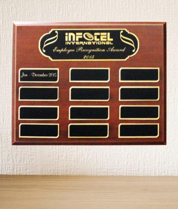 Employee of the month plaque 6