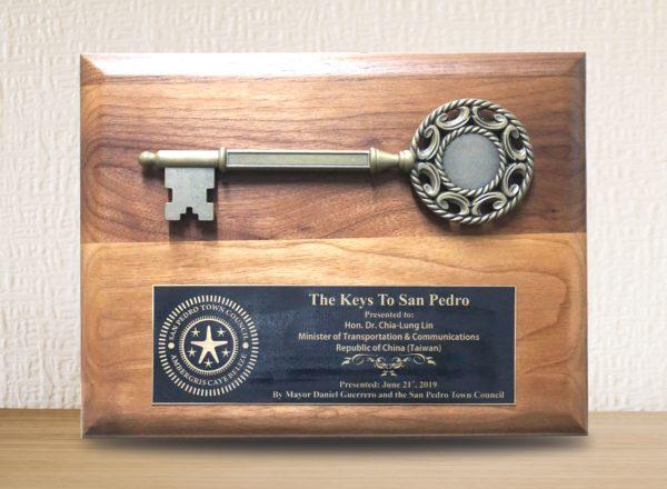 key plaque
